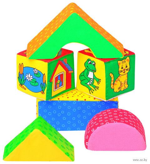 """Кубики """"Домики"""" (6 шт.) — фото, картинка"""