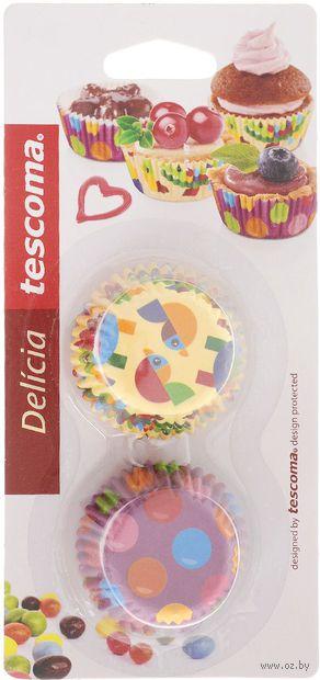 """Форма бумажная для выпекания кексов """"Delicia. Для детей"""" (100 шт.) — фото, картинка"""