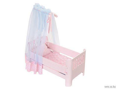 """Кроватка для кукол """"Спокойной ночи"""" — фото, картинка"""