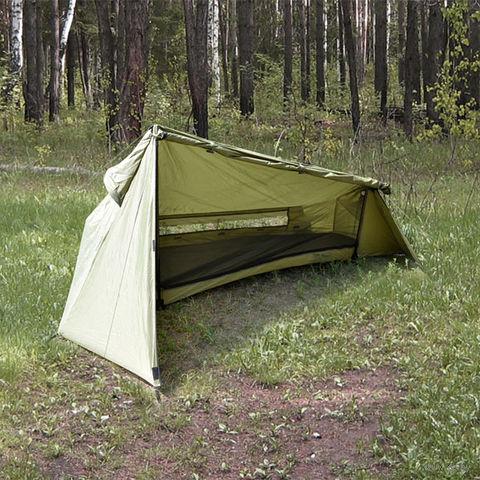 """Палатка одноместная однослойная """"Settler R"""" (оливковый)"""