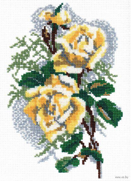 """Вышивка крестом """"Роза"""" (арт. С032)"""