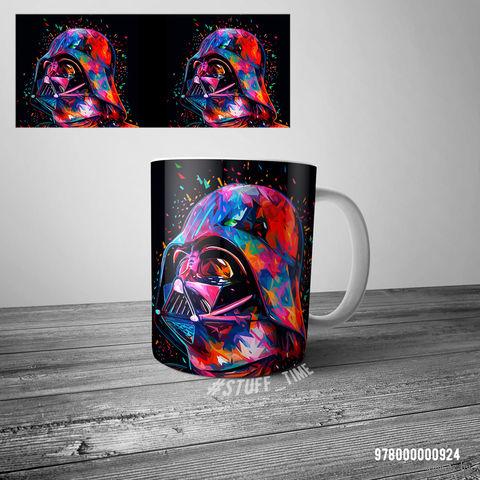 """Кружка """"Звездные войны. Дарт Вейдер"""" (белая; арт. 0924) — фото, картинка"""