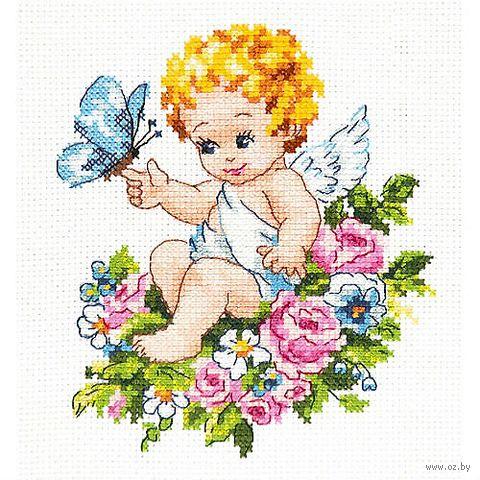 """Вышивка крестом """"Ангел нашей любви"""""""