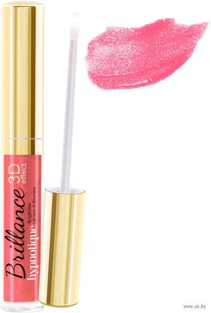 """Блеск для губ """"Brillance hypnotique 3D"""" тон: 42, нежно-розовый — фото, картинка"""