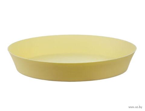 """Подставка для цветочного горшка """"Фиолек"""" (12,5 см; желтая пастель) — фото, картинка"""