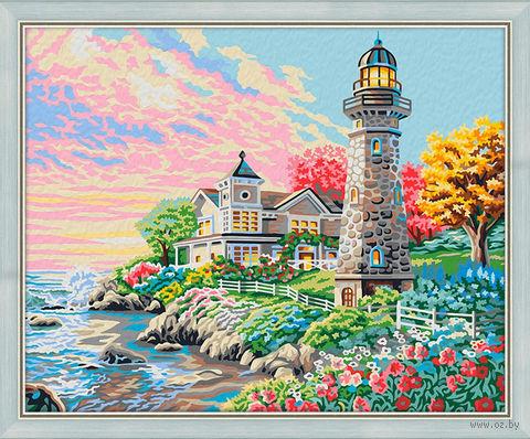 """Картина по номерам """"Утром на побережье"""" (400х500 мм) — фото, картинка"""