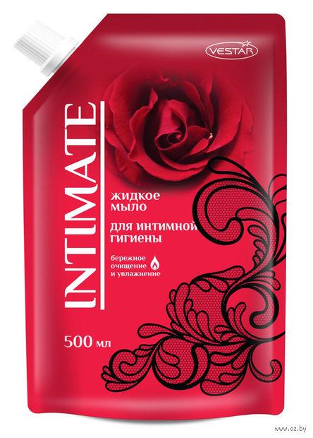 """Жидкое мыло для интимной гигиены """"Intimate"""" (500 мл) — фото, картинка"""