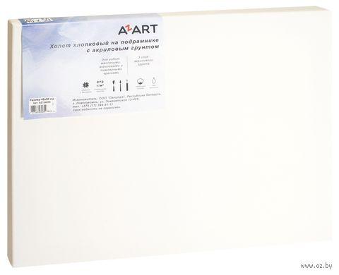 """Холст на подрамнике """"AZART"""" (40х50 см; акриловый грунт; арт. AZ124050) — фото, картинка"""