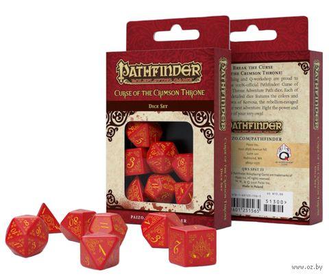 """Набор кубиков """"Pathfinder. Curse of the Crimson Throne"""" (7 шт.) — фото, картинка"""