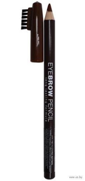 "Карандаш для бровей ""Eyebrow Pencil"" тон: 04, темно-коричневый — фото, картинка"