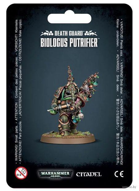 Warhammer 40.000. Death Guard. Biologus Putrifier (43-24) — фото, картинка