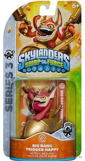 Skylanders Swap Force. Интерактивная фигурка Big Bang Trigger Happy