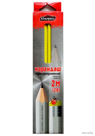 Набор карандашей чернографитных (12 шт.; 2B)