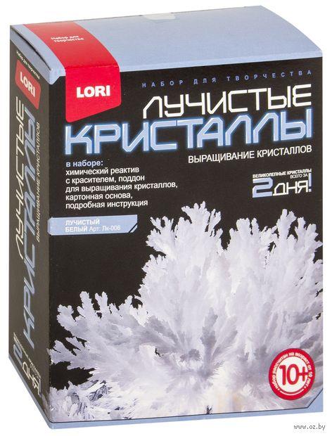 """Набор для выращивания кристаллов """"Лучистые кристаллы. Белый"""" — фото, картинка"""