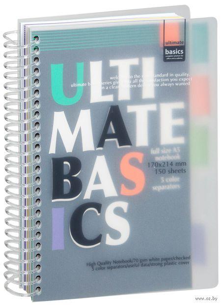 """Блокнот в клетку """"Ultimate Basics"""" (А5) — фото, картинка"""