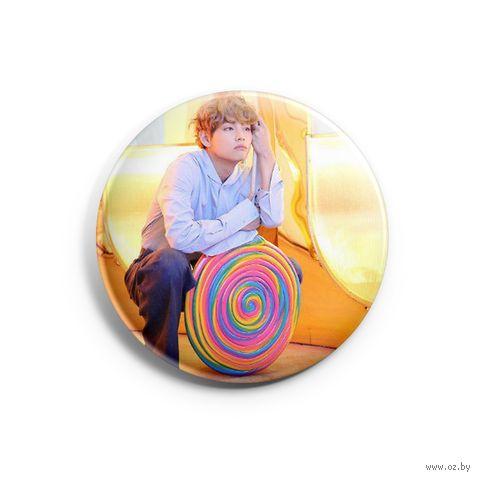 "Значок маленький ""BTS. Taehyung"" (арт. 474) — фото, картинка"