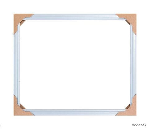 Рамка деревянная для картины по номерам (40х50 см; голубая) — фото, картинка