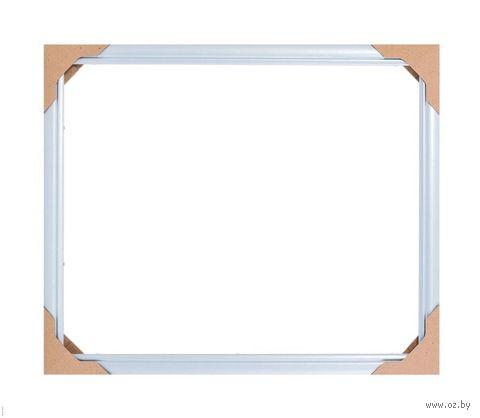 Рамка для картины по номерам (40х50 см; голубая) — фото, картинка
