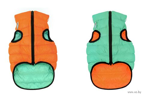 "Куртка ""Lumi"" (30 см; оранжево-салатовая) — фото, картинка"