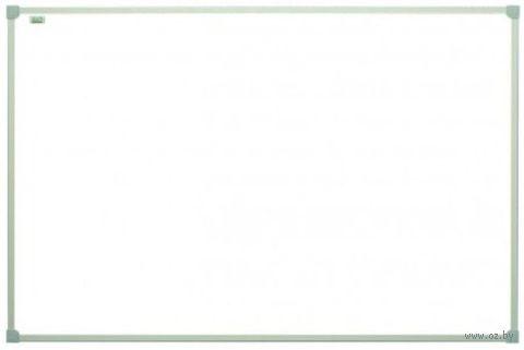 Доска маркерная белая с полимерным покрытием (90х60 см, в рамке C-line)