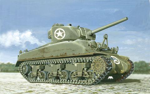 """Средний танк """"M4 Sherman"""" (масштаб: 1/72) — фото, картинка"""