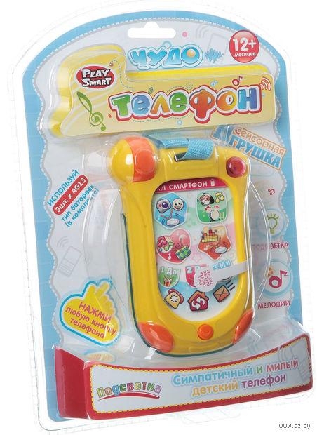 """Музыкальная игрушка """"Телефон"""" (с ленточкой)"""