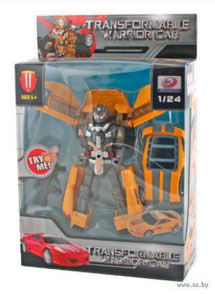 "Робот-трансформер ""Warrior car"" (масштаб: 1/24)"