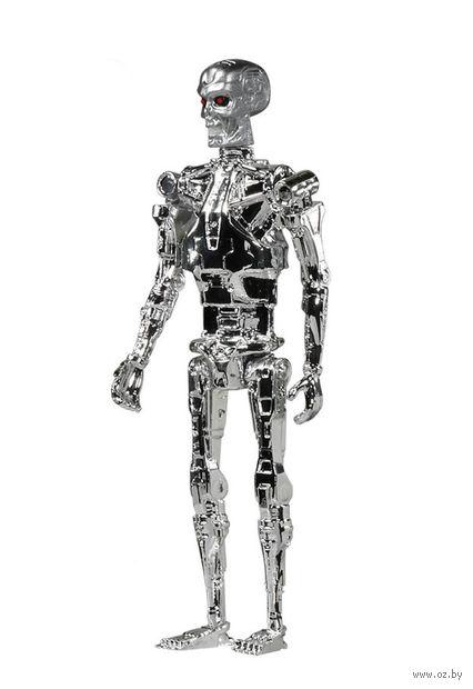 Фигурка. Terminator chrome T-800 Reaction (10 см)