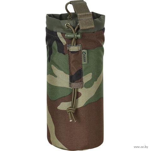 Подсумок для ПЭТ бутылки (woodland) — фото, картинка