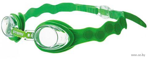 Очки для плавания (зелёные; арт. S403) — фото, картинка