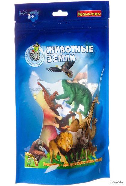 """Набор фигурок """"Животные земли. Динозавры"""" (8 шт.) — фото, картинка"""