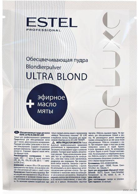 """Пудра для волос """"Обесцвечивающая. De Luxe Ultra Blond"""" (30 г) — фото, картинка"""