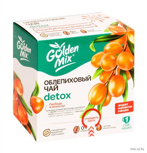 """Чай облепиховый """"Golden Mix. Detox"""" (21 стик) — фото, картинка"""