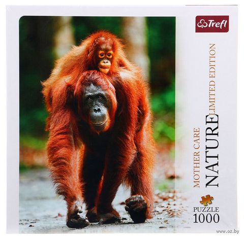 """Пазл """"Орангутаны. Индонезия"""" (1000 элементов) — фото, картинка"""