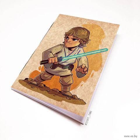 """Блокнот крафт """"Звездные войны"""" (А7; арт. 895) — фото, картинка"""