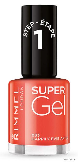 """Гель-лак для ногтей """"Super Gel"""" (тон: 033)"""