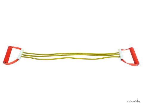 Эспандер плечевой резиновый ЭП-4-К (4 струны) — фото, картинка