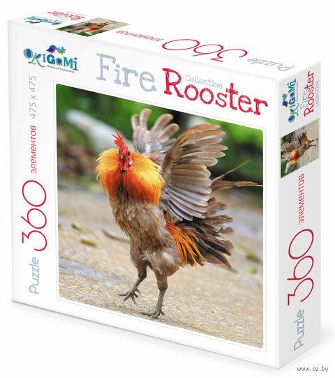 "Пазл ""Fire Rooster. Бойцовый петух"" (360 элементов) — фото, картинка"