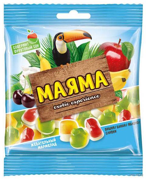 """Мармелад """"Маяма"""" (170 г; банан, яблоко и вишня) — фото, картинка"""