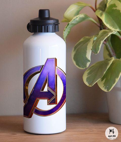 """Бутылка для воды """"Мстители"""" (600 мл) — фото, картинка"""