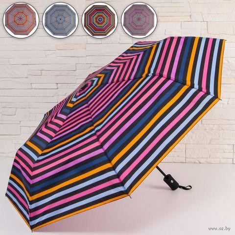 """Зонт """"Яркие полоски"""" — фото, картинка"""