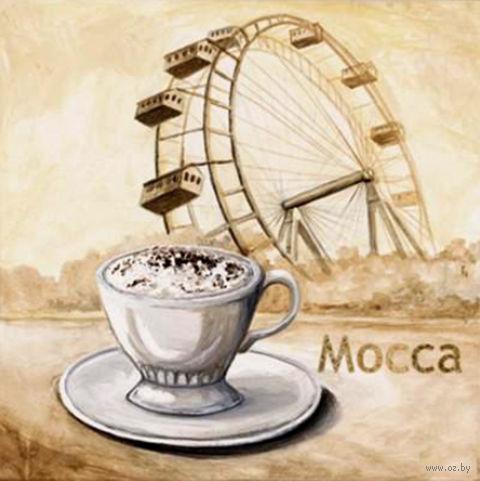 "Алмазная вышивка-мозаика ""Мокка"" (400х400 мм) — фото, картинка"