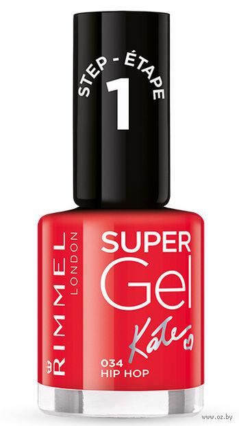 """Гель-лак для ногтей """"Super Gel"""" (тон: 034) — фото, картинка"""