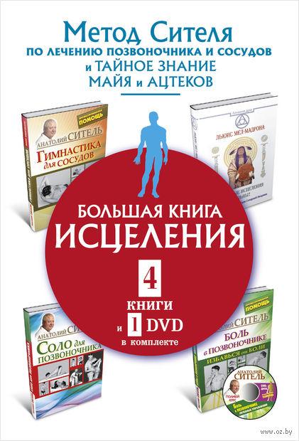 Большая книга исцеления (Комплект из 4-х книг и + DVD) — фото, картинка