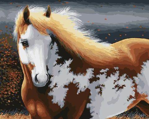 "Картина по номерам ""Пятнистый красавец"" (400х500 мм) — фото, картинка"