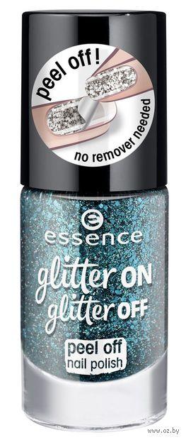 "Лак для ногтей ""Glitter On Glitter Off"" тон: 06 — фото, картинка"