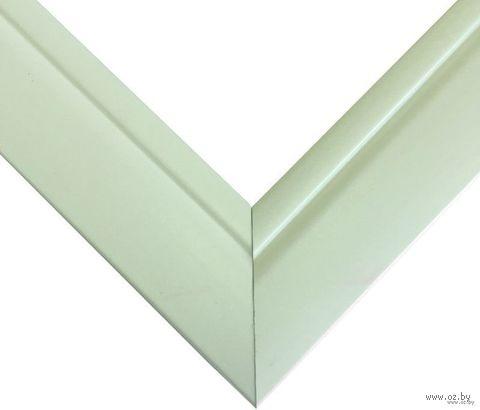 Рамка деревянная для картины по номерам (40х50 см; зеленая) — фото, картинка
