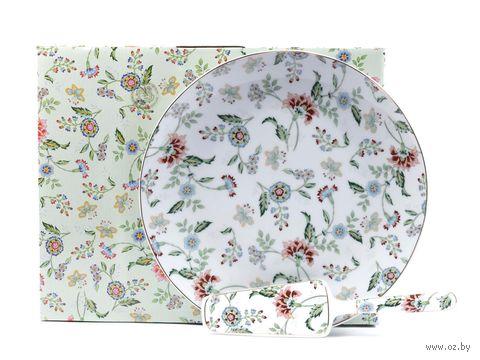 """Набор посуды для торта """"Tiffany"""" (2 предмета) — фото, картинка"""