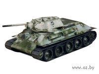 """Сборная модель из бумаги """"Танк Т-34 обр.1941г. (белый)"""" (масштаб: 1/35)"""