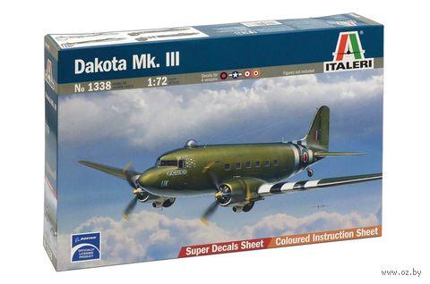 """Сборная модель """"Военно-транспортный самолет """"Dakota Mk. III"""" (масштаб: 1/72) — фото, картинка"""